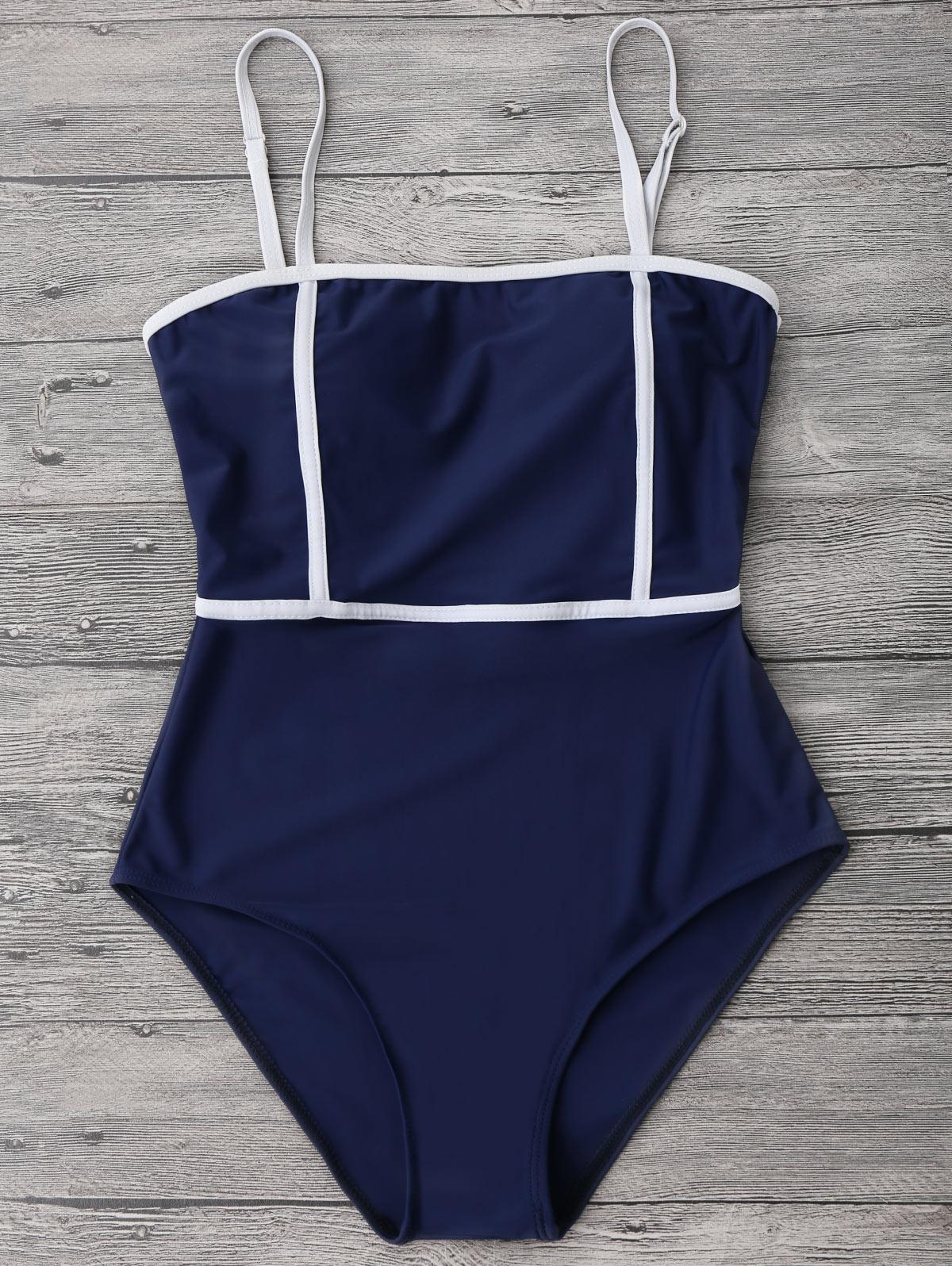 Cami Piping One Piece
