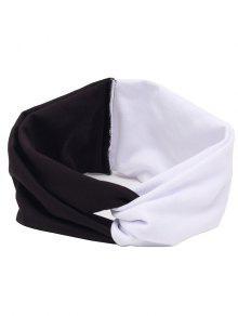Buy Elastic Multiuse Hair Band - WHITE AND BLACK