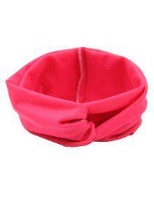 Cinta Elástica De Pelo Multiuso - Rosa Roja