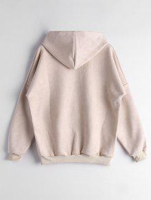 Drop Shoulder Front Pocket Hoodie; Drop Shoulder Front Pocket Hoodie ...
