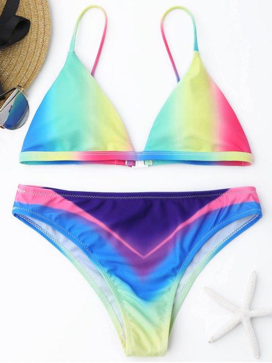 Ombre Bikini Set - Cor Mistura M