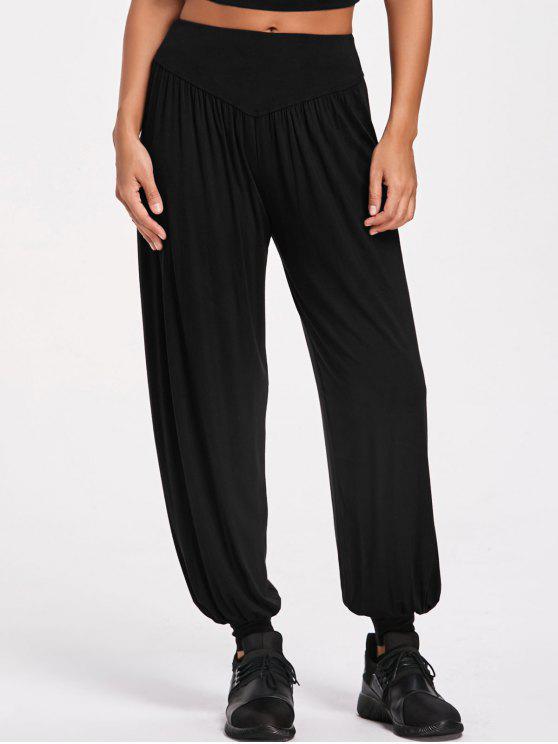 best Sporty Bloomer Pants - BLACK 2XL