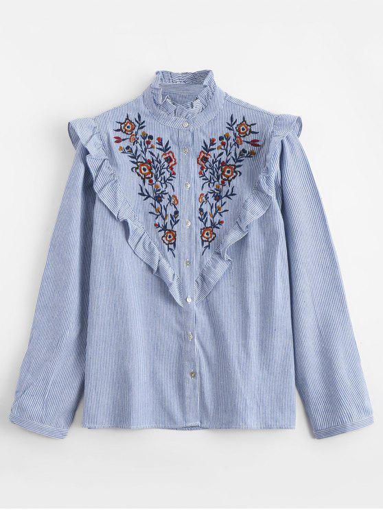 Las colmenas bordaron la camisa de las rayas - Raya S