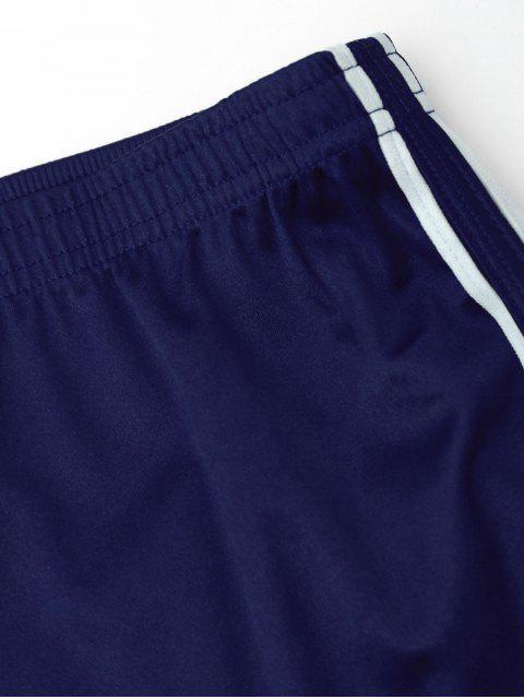 Cintura elástica de raso Deportes Dolphin Shorts - Azul S Mobile