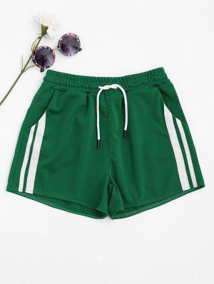 Side Striped Sports Shorts