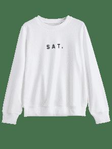 Letra S Camiseta Cuello Blanco La Equipo De Gr De Del 225;fica SvAvqWUBI