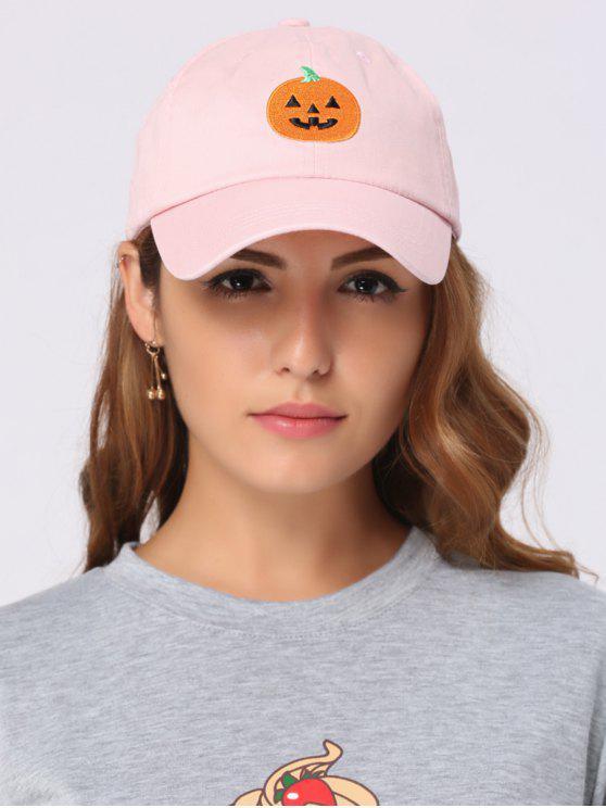 Chapéu de basebol bordado da abóbora do Dia das Bruxas - Mamão