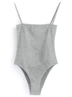 Leibchen Bodysuit - Grau L