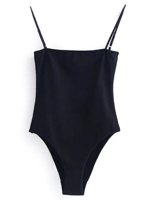 Body à Bretelles - Noir XL Mobile
