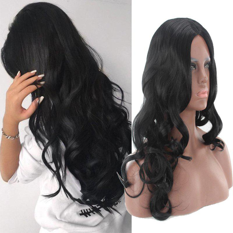 Long Center Parting Body Wave Synthetic Wig 226267501
