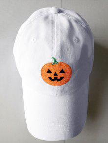 2019 Sombrero De Béisbol Del Bordado De La Calabaza De Halloween en ... 50c051e6eb7