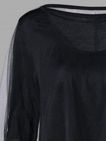 halloween maxikleid mit hohem saum und hohem capelet. Black Bedroom Furniture Sets. Home Design Ideas