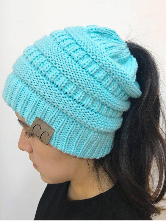 Chapéu de malha superior de Mixcolor Open - Azul claro