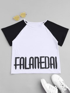 Falanedai Graphic Sports T-shirt - White S