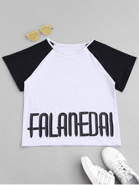 Falanedai Graphic Sports T-shirt - Blanc S Mobile