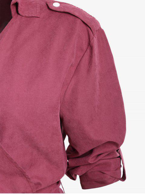 Cuello de Hombro - Vino Rojo 2XL Mobile