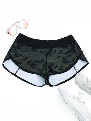 Camo Dolphin Shorts