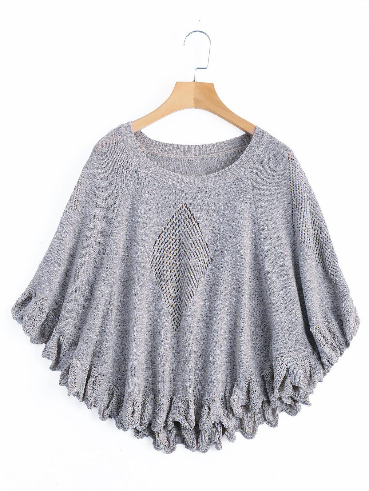 Hollow Out Knitted Top 225059901