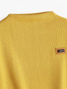 Sleeve Lantern Patched Jengibre Sweatshirt Insignia UvE7q5wp