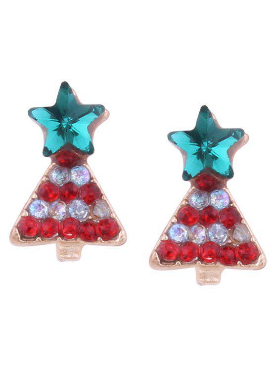 Boucles d'oreilles minuscules - Rouge