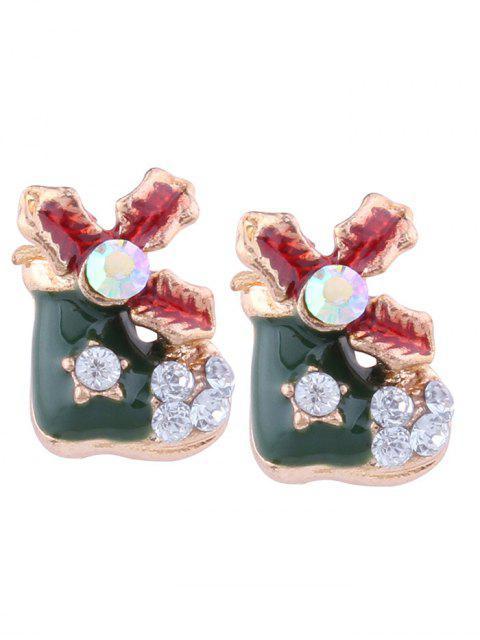 Pendientes de perlas - Verde  Mobile