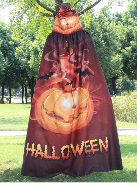 Halloween-Druck Magischer Umhang - Golden  Mobile