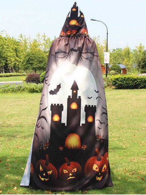 Cape Magique Halloween Imprimée - Kaki  Mobile