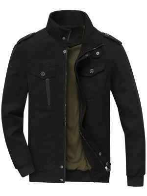 Zip Up Jacket Men Clothes