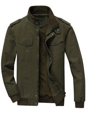 Zip Up Jacket Men Clothes