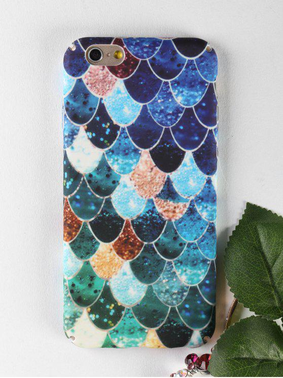 Mermaid Pattern Phone Case pour Iphone - Multicolore POUR IPHONE 6 / 6S