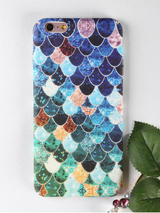 Mermaid Pattern Phone Case pour Iphone - Multicolore POUR IPHONE 6 PLUS / 6S PLUS
