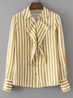 Sacs à Bandoulière Flounces Stripes Shirt - Rayure L