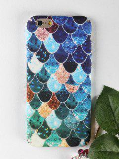 Mermaid Pattern Phone Case For Iphone - For Iphone 6 / 6s