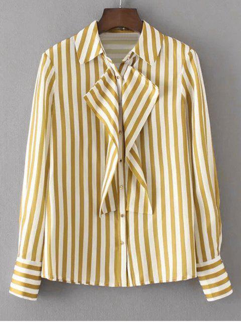 Almohadillas Flounces Stripes Shirt - Raya M Mobile