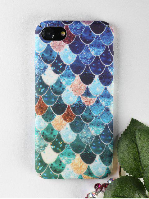 women's Mermaid Pattern Phone Case For Iphone - COLORMIX FOR IPHONE 7 Mobile
