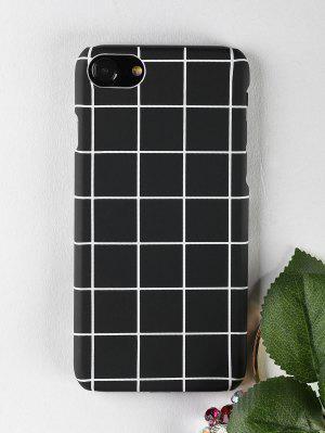 Grid Pattern teléfono caso para Iphone