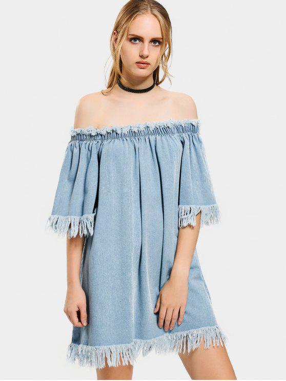 Denim Cocktail Dress