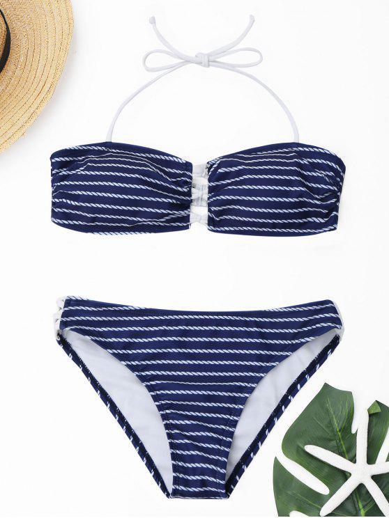 Juego de bikini con bandolera - Marina de Guerra S