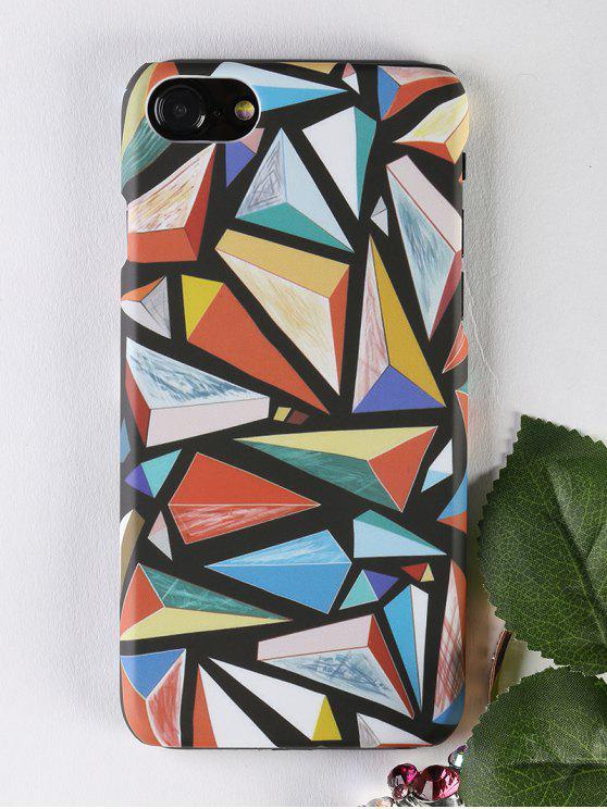 Étui de téléphone modèle géométrique pour Iphone - Multicolore POUR IPHONE 7