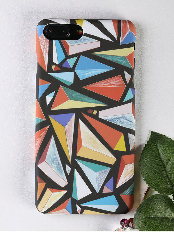 fashion Geometric Pattern Phone Case For Iphone - COLORMIX FOR IPHONE 7 PLUS