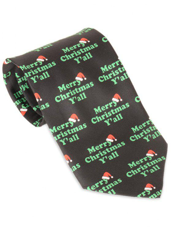 Merry Christmas Letter Y.Merry Christmas Y All Print Allover Tie