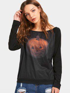 T-shirt à Manches Courtes à Manches Courtes à Manches Courtes - Noir Xl