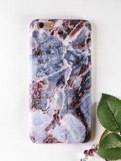 Marble Soft Phone Case For Iphone - Gray For Iphone 6 Plus / 6s Plus