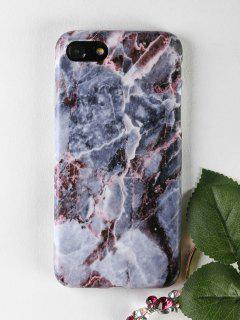 Marble Soft Phone Case For Iphone - Gray For Iphone 7