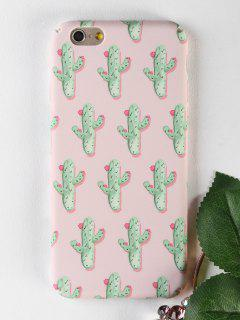 Cactus Pattern Phone Case For Iphone - Papaya For Iphone 6 / 6s