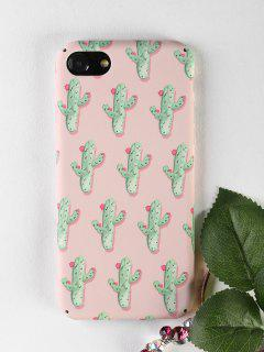 Cactus Pattern Phone Case For Iphone - Papaya For Iphone 7