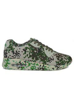 Breathable Camouflage Casual Shoes - Acu Camouflage 43