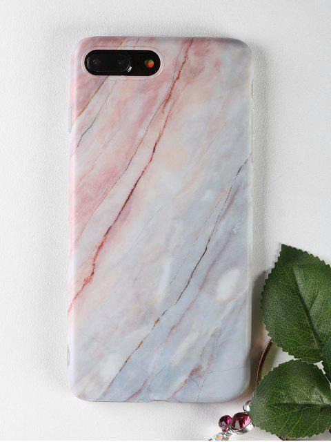 Housse de téléphone en marbre pour iphone - Multicolore POUR IPHONE 7 PLUS Mobile