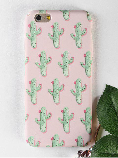 lady Cactus Pattern Phone Case For Iphone - PAPAYA FOR IPHONE 6 / 6S Mobile