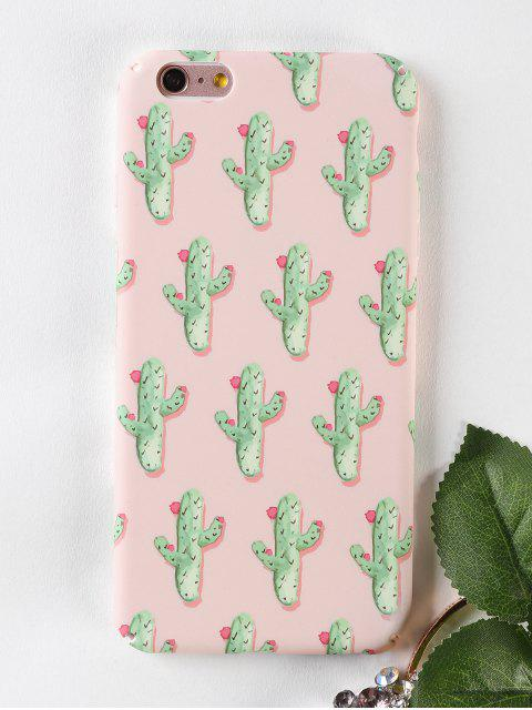 Cactus Pattern Phone Case pour Iphone - Papaye POUR IPHONE 6 PLUS / 6S PLUS Mobile